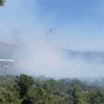 Μεγάλη φωτιά στη Χίο: Εντολή εκκένωσης δύο χωριών