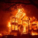Glass fire: Συγκλονιστικές εικόνες από τη φωτιά στην κοιλάδα της Νάπα