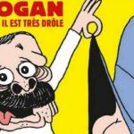 Φωτιές βάζει το Charlie Hebdo: Ο Ερντογάν με το εσώρουχο κοιτάζει τα οπίσθια μιας γυναίκας