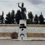 Αλητεία: Άγνωστοι βεβήλωσαν το μνημείο του Λεωνίδα στις Θερμοπύλες