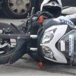 Τροχαίο στη Βούλα με δύο τραυματίες αστυνομικούς που βρισκόντουσαν σε παρακολούθηση