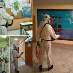 Ενδελεχής απολύμανση στο 10ο Δημοτικό σχολείο Γλυφάδας